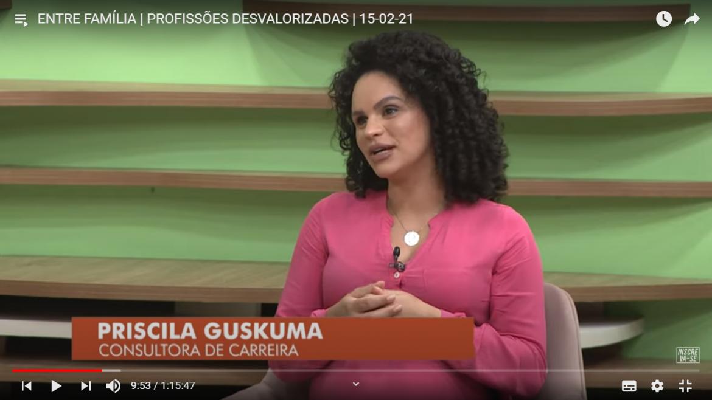 Entrevista para Tv Novo Tempo – Profissão e Profissionais desvalorizados no mercado